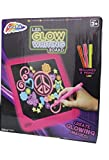 Led Glow Writing Board Glow In The Dark Drawing Board With Pens Led Scribble Board (Pink)