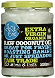 Lucy Bee Extra Virgin Fair Trade Organic Raw Coconut Oil 500ml Bild
