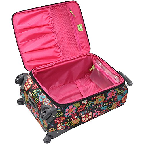 Lily Bloom Luggage Large Expandable Design Pattern Suitcase With Spinner Wheels For Woman (28in, Furry Friends) by Lily Bloom (Image #2)