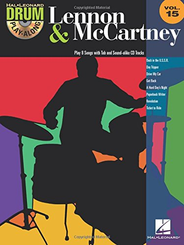 Lennon & McCartney: Drum Play-Along Volume 15 (Songbook Play Along Drum)