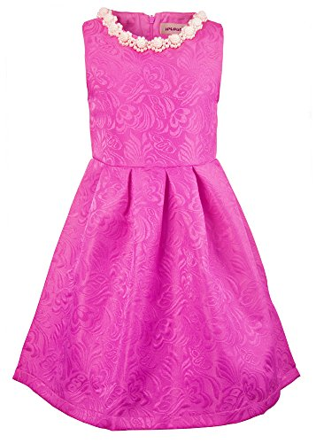 Ipuang Girls Dresses for Special Occasions Hot Pink -