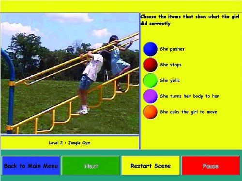 My School Day Enhanced CD-ROM Educational Classroom Social Skills Ages 6-12 by Social Skill Builder (Image #2)