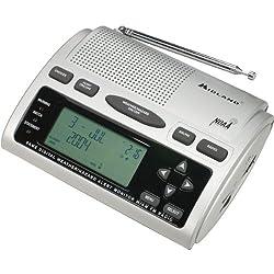 Midland - Am/Fm Alarm Clock Radio With Weather/All Hazard Alerts Product Category: Radios/Emergency/Weather Radios