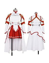 CG Costume Women's Sword Art Online Asuna Dress Cosplay Costume