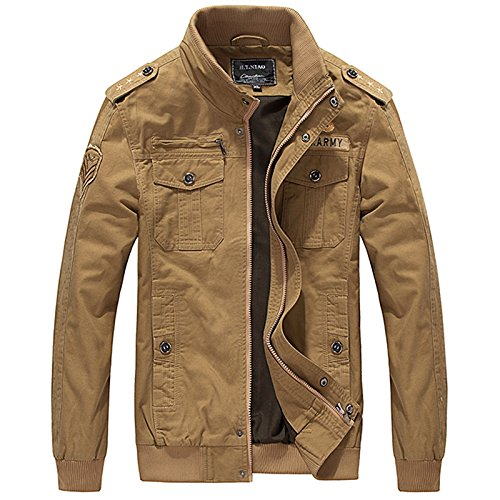 Amazon.com: NEW Tactical Military Jacket Men Mens Army Bomber Jacket Windbreaker Waterproof Autumn Militar Style Male Coat Ceket.DA42: Clothing