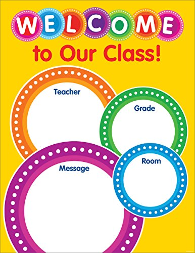 Color Your Classroom: Welcome Chart