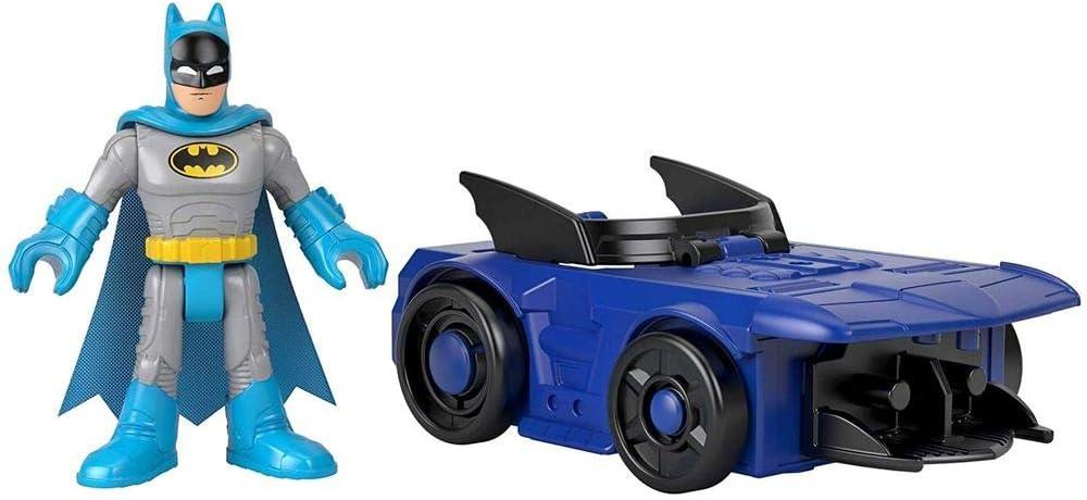 Batgirl /& Batmobile DC Super Friends Imaginext Slammers Sealed Box