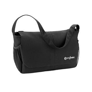 Cybex Gold - Organizador, amplio bolso con correa de transporte, incluye estuche para pequeños objetos, color negro: Amazon.es: Bebé