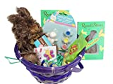 Kids Happy Easter Gift Basket ~ Filled with Assorted Treats & Favors