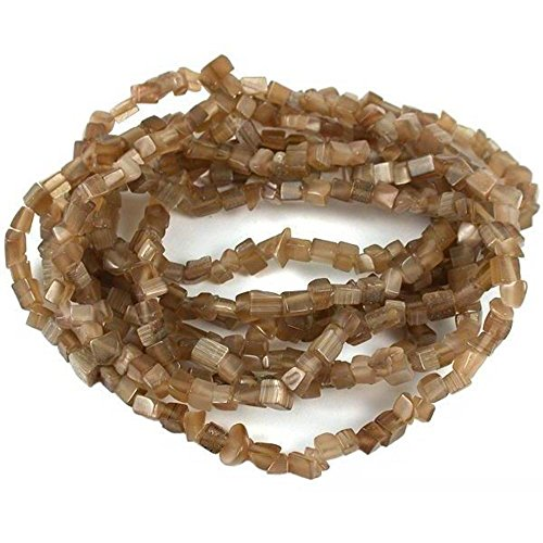 Brown Fiber Optic Chip Beads Jewelry Beading 34