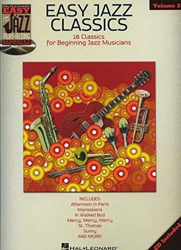 Easy Jazz Classics - Easy Jazz Play-Along Vol. 3 (Book/Cd) (Hal Leonard Jazz Play-Along)