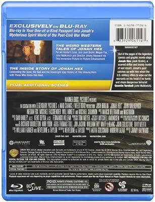 Jonah Hex [USA] [Blu-ray]: Amazon.es: Brolin, Malkovich, Fox ...