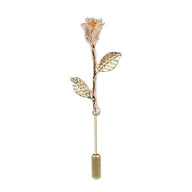Amazon.com: Pin de flor diseño especial para hombres y ...