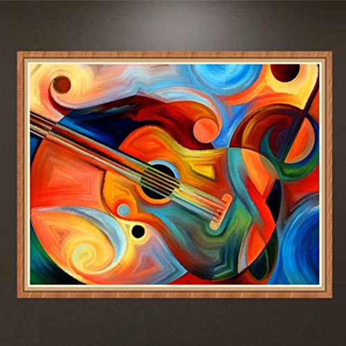 5D Full Drill Diamond,YOYORI Cello Painting Kit Square Rhine