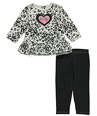 BON BEBE Baby Girls' 2 Piece Dress and Jegging Set Newborn by Bon Bebe Children's Apparel that we recomend personally.