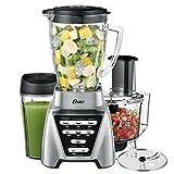 Oster Pro 1200 Blender PLUS Food Processor and Personal Blending Cup, BLSTMB-CBF-000