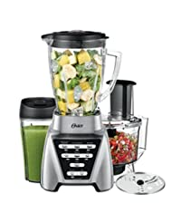 Oster Pro 1200 Blender 3-in-1 with Food Processor Attachment ...