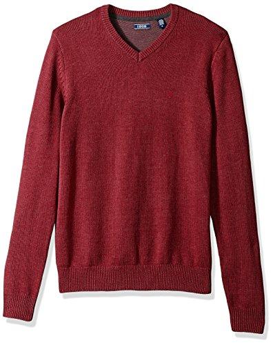 IZOD Men's V-Neck 7gg Long Sleeve Sweater