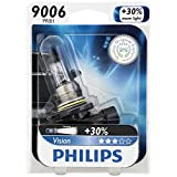 Philips 9006 Vision Upgrade Headlight Bulb, 1 Pack