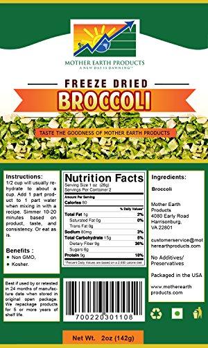 freeze dried broccoli - 4