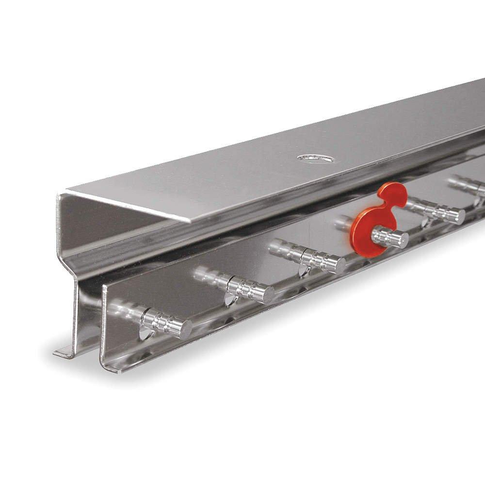 TMI - 999-00572 - Aluminum Save-T Loc(R) Strip Door Hardware