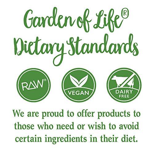 Garden of Life Vegan Green Superfood Powder - Raw Organic Perfect Whole Food Dietary Supplement, Original, 7.4oz (209g) Powder by Garden of Life (Image #8)