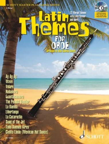 ALBUM. - LATIN THEMES OBOE +CD: Amazon.es: Instrumentos musicales