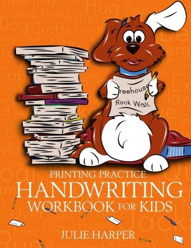Printing Practice Handwriting Workbook for Kids