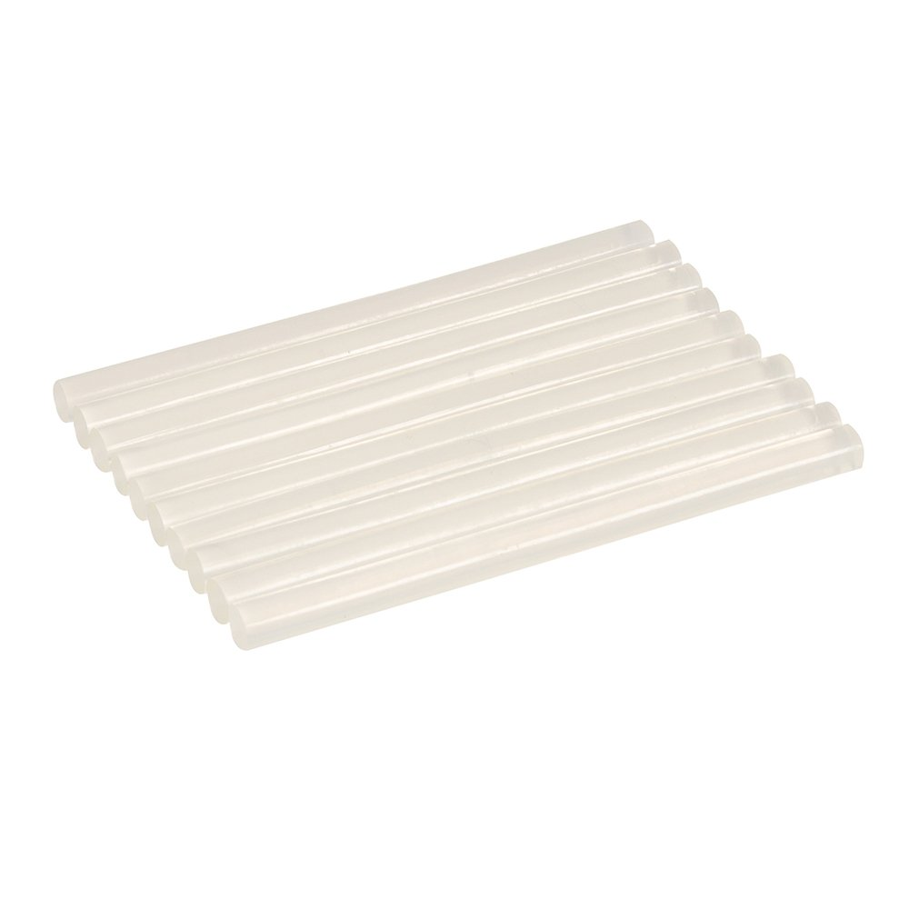 Silverline 100024 Lot de 10 Bâ tons de colle 7, 2 mm