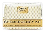 Pinch Provisions Shemergency Kit For Brides In White/Gold Dot