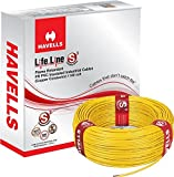 Havells Lifeline Cable 1.5 sq mm wire (Yellow)