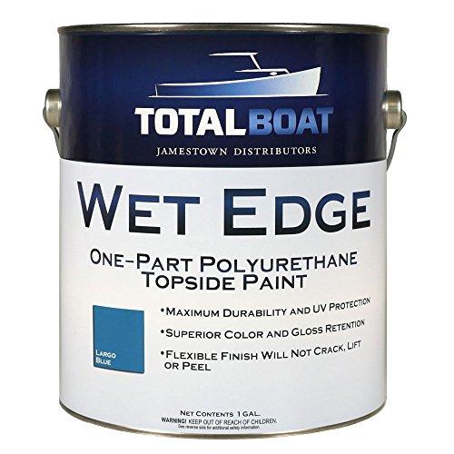 TotalBoat Wet Edge Topside Paint (Largo Blue, Gallon)