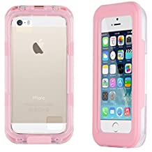 Pink Salamander Waterproof Capsule Case for iPhone 4 / 4S, iPhone 5 / 5s / SE and iPhone 5C