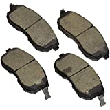 Bosch BE815AH Blue Disc Brake Pad Set with Hardware for Select Infiniti I35; Nissan Altima, Cube, Maxima, Sentra, Versa; Suzuki SX4 - FRONT