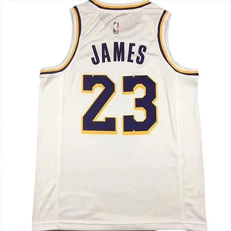 BUY-TO James Camiseta de Baloncesto Camiseta número 23 Estados Unidos de América Liga Profesional