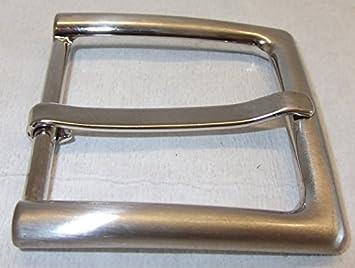 e9cd94edb97680 1 Schließe Gürtelschnalle Schnalle 4 cm silber rostfrei ! NEU ! 05.49