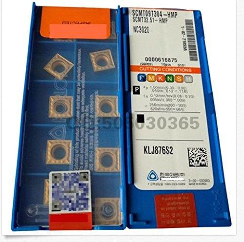gaobaijia 10pcs scmt09t304-hmp nc3020 scmt32.51-hmpcarbide Inserta nueva GBJ
