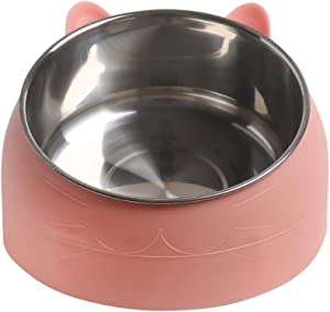 Pet Bowl Stainless Steel Non-Skid Cat Bowl Cat Food Bowls Base Dog Bowl, Pet Feeding Station Base Bowl of Premium Quality Pets Bowl for Mini Small Medium Dogs Cats Puppy