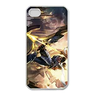 iphone4 4s phone case White Varus league of legends ZSD4466852