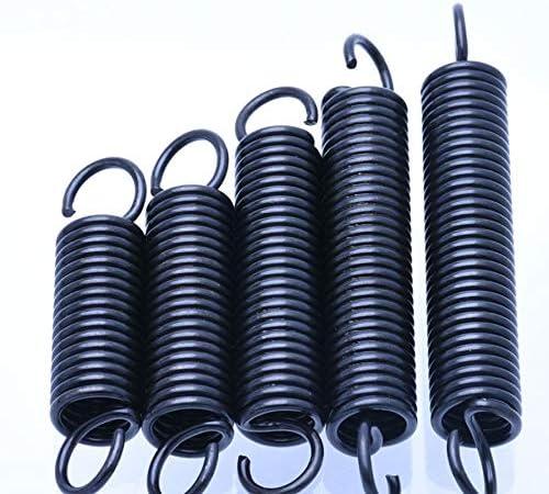 10Pcs Stahl Zugfeder mit Haken Small Zugfeder L/änge 15-60mm Durchmesser NO LOGO W-NUANJUN-Spring Gr/ö/ße : 0.6 x 6 x 15mm Draht 0,6 mm Au/ßendurchmesser 6 mm