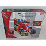 Disney Pixar Cars 2 Deluxe Playtown by Playhut. Twist u0027N Fold Pop up set up with 9 detachable pieces and tunnel port for crawl through fun.  sc 1 st  Amazon.com & Amazon.com: Disney Cars - Play Tents u0026 Tunnels / Sports u0026 Outdoor ...