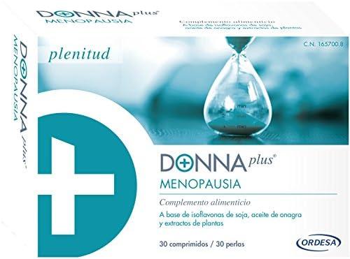 DONNAplus Menopausia Complemento Alimenticio - 60 Unidades: Amazon ...