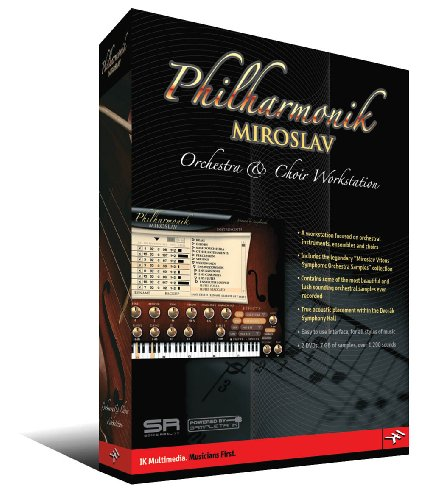Philharmonik Miroslav Orchestra Choir Workstation Software