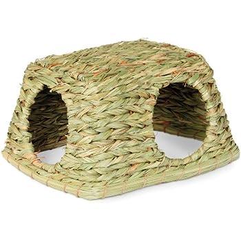 Prevue Hendryx 1097 Nature's Hideaway Grass Hut Toy, Medium