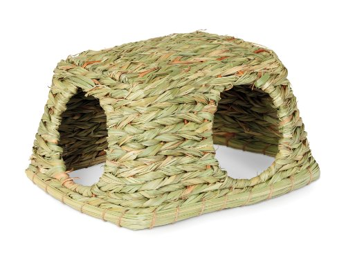Prevue Hendryx 1097 Nature's Hideaway Grass Hut Toy, -