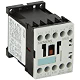 Siemens 3RT13 17-1BB40 Special Application Contactor, DC Operation, Screw Connection, S00 Size, 7.5HP Maximum HP Rating at 460V, DC 24 V Rated Control Supply Voltage