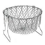 Herramienta de drenaje de aceite de cocina mejorada de la cesta de lixiviación de acero inoxidable de diseño original más vendido de 2019