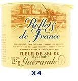 French Fleur De Sel Guerande Reflets De France-Fleur De Sel De Guerande-4 Can Pack