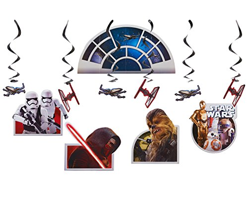 American Greetings Star Wars Episode VII Room Decorating Kit -