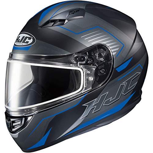 (HJC CS-R3 Trion Men's Snowmobile Helmet - MC-2SF / X-Large)